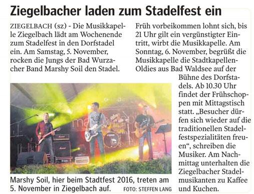 Quelle: Schwäbische Zeitung, 04.11.2016