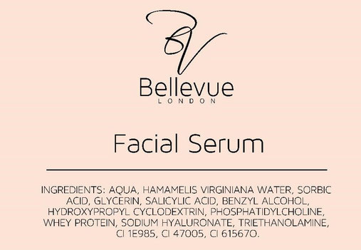 Facial Serum Ingredients