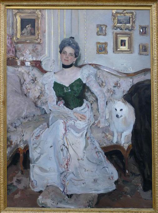 Valentin Serov (1865-1911) : portrait de la Princesse Zinaide Yusupova