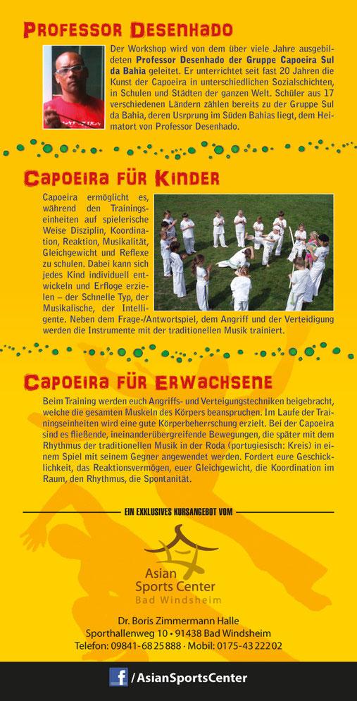 Capoeira mit Prof Desenhado Sul da Bahia
