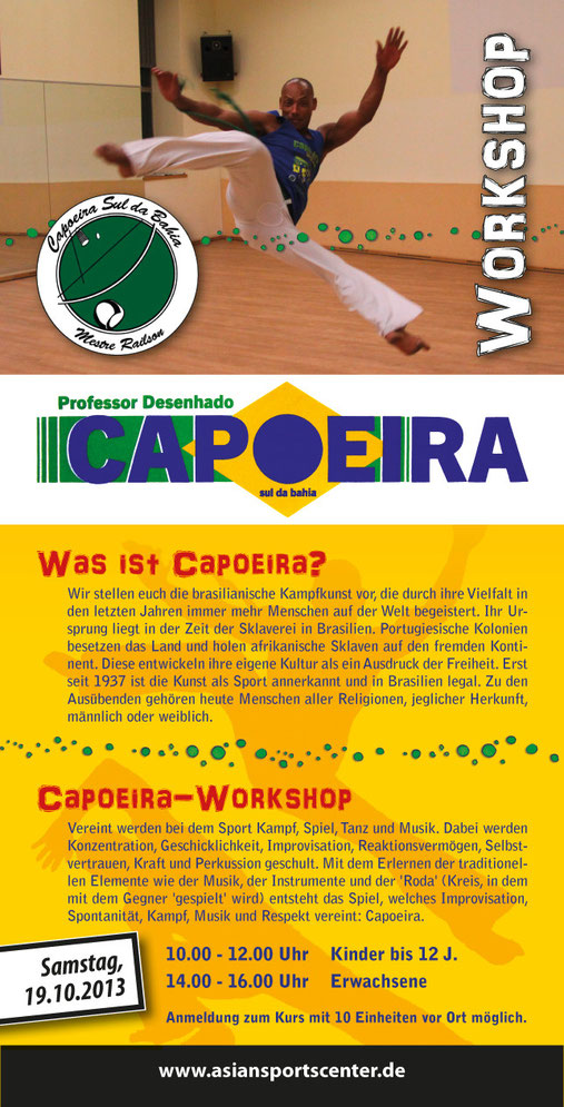 Capoeira Workshop in Bad Windsheim