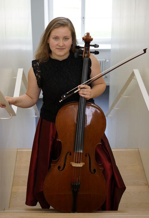 ... und als Cellistin 2019