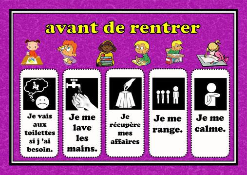 Affichages fiches de pr parations cycle1 cycle 2 ulis for Affiche toilettes propres a imprimer gratuite
