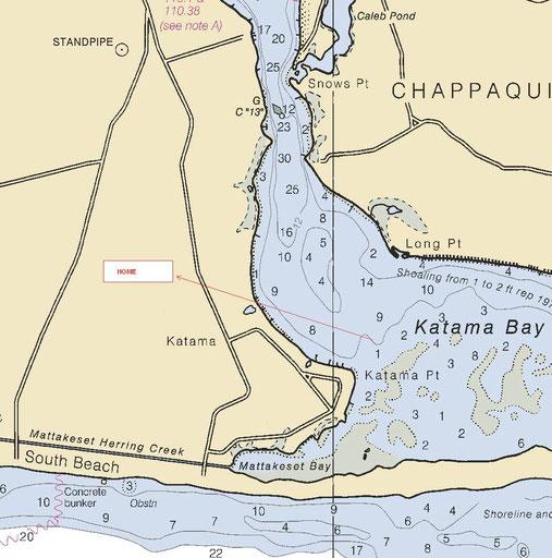 Both homes near South Beach, Katama Bay, Norton Point (by 4 wheel, boat or kayak), Katama Farm, Katama  Airfield and Right Fork Diner.