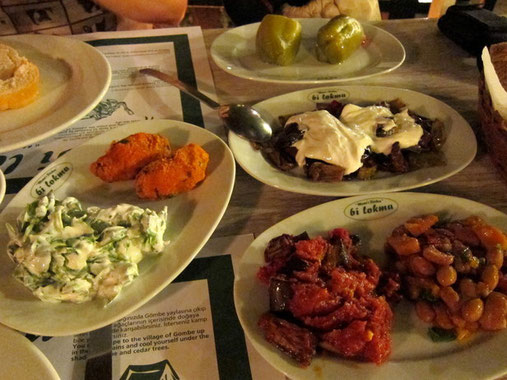 BI LOKMA Restaurant in Kas, Türkei Lykische Küste