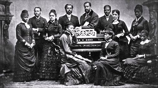 Gospel, finales del siglo XIX / foto de archivo