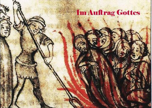 """Hier werden Ungläubige """"zu Recht"""" verbrannt, bevor """"Gott"""" es tut. In Ewigkeit, Amen."""