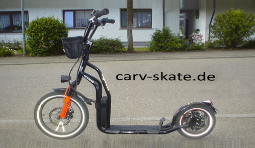e-Hybrid-Scooter .. stabil .. stark .. leicht .. dein Comfort-Lift