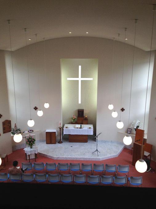 新宮カトリック教会 聖堂