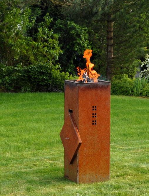 Ambi-Fire Cubo Rost Feuerstelle
