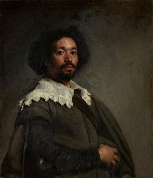 Портрет Хуана де Пареха - знаменитые картины Диего Веласкеса