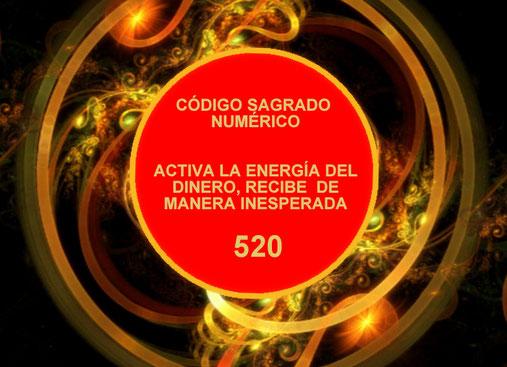 RECIBE DINERO AHORA - CÓDIGO SAGRADO NUMÉRICO-  520- RECIBIR DINERO DE FORMA INESPERADA - ACTIVA LA ENERGÍA DEL DINERO DE MANERA INESPERADA 520- DE TODAS PARTES- MÉTODO - PROSPERIDAD UNIVERSAL -  BLOG-PU
