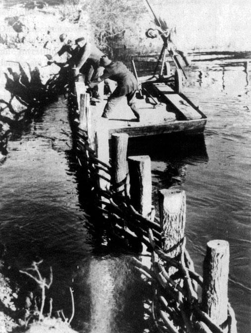 Kribbenbau an der Ruhr