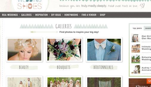 Die fünf besten Hochzeitsblogs vorgestellt von Anne Hufnagl