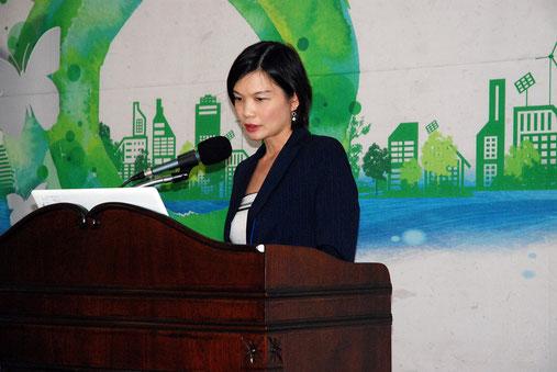 シンガポール保健促進局産業連携部オードレー・タン次長