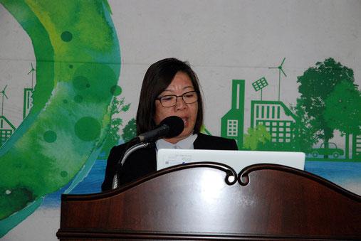 フィリピン・タガイタイ市都市計画室エミルマ・ペロ室長
