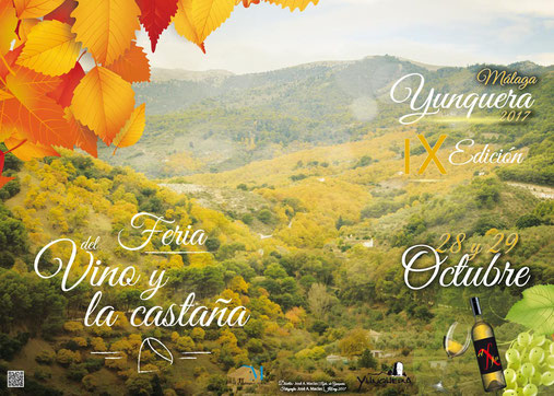 Feria del Vino y la Castaña en Yunquera 2015 Programa