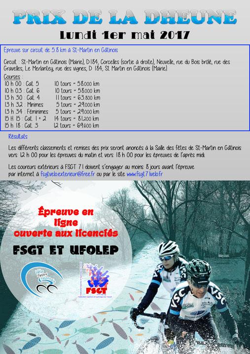 Prix cycliste de la Dheune
