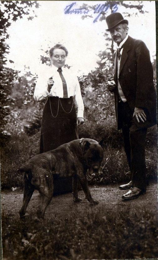 1913 Sommer unbekannte Person