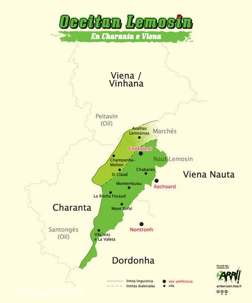 Charanta e Viena occitanas