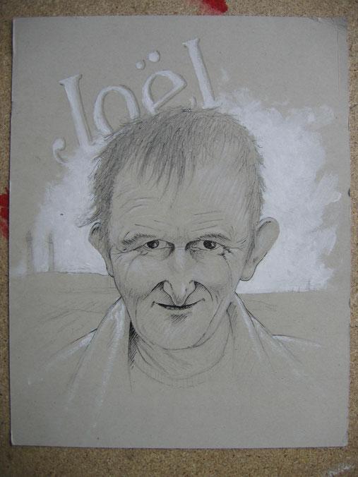 Joël - portrach d'apres foto