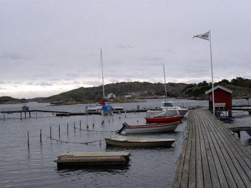 Boote am Steg in Göteborg - Foto: delightful SPOTS
