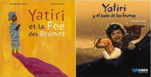 """""""Yatiri"""" en français et en espagnol : deux langues, deux éditions et deux illustrateurs différents"""
