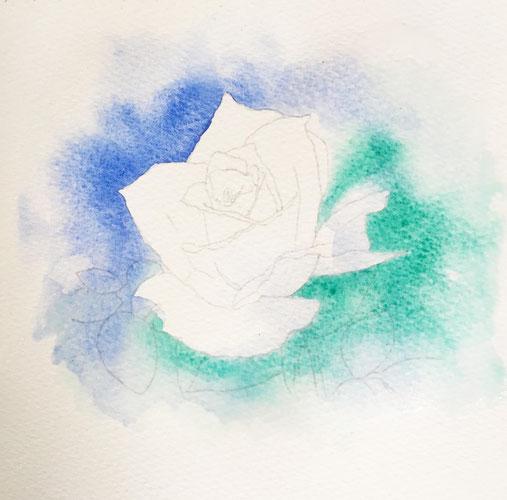 水彩画の描き方その1