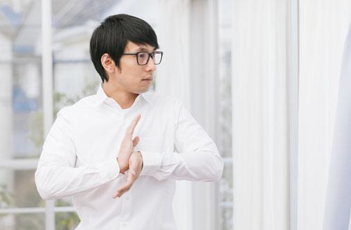 太極拳を習っていて腰痛になった奈良県葛城市の男性