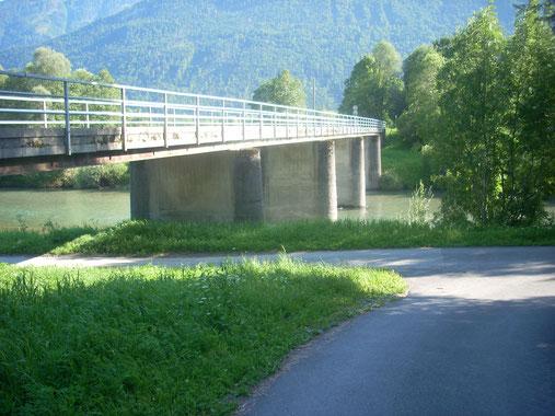 Görtschacher Gailbrücke - Revierende