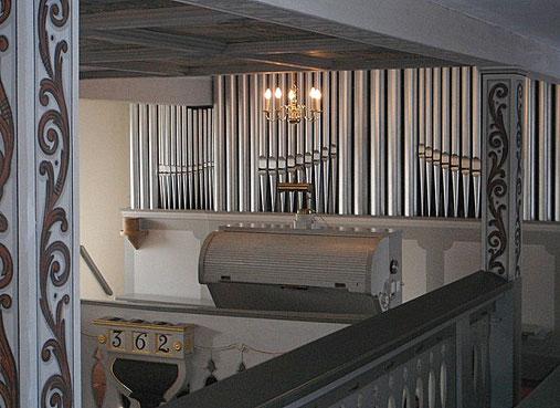 Bild: Seeligstadt Orgel Kirche