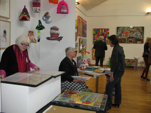 Susanne Lüftner-Haude präsentierte drei Künstler ihrer Sammlung im Kunsthaus Kannen
