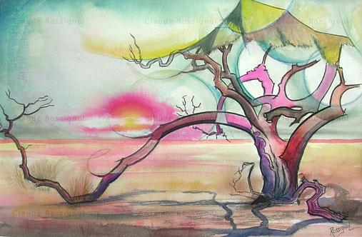 Squat en Namibie n°1 - Claude Rossignol