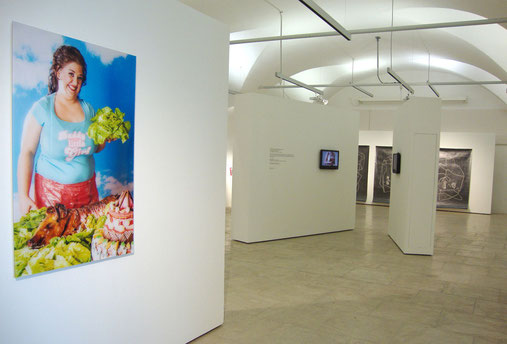exhibition view EIGHT, Atelierhaus Salzamt, Linz (AT), 2014, photo: Veronika Merklein