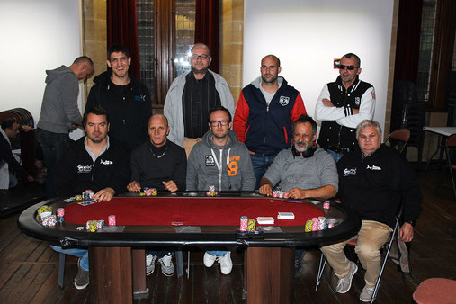 TABLE FINALE DU MAIN EVENT