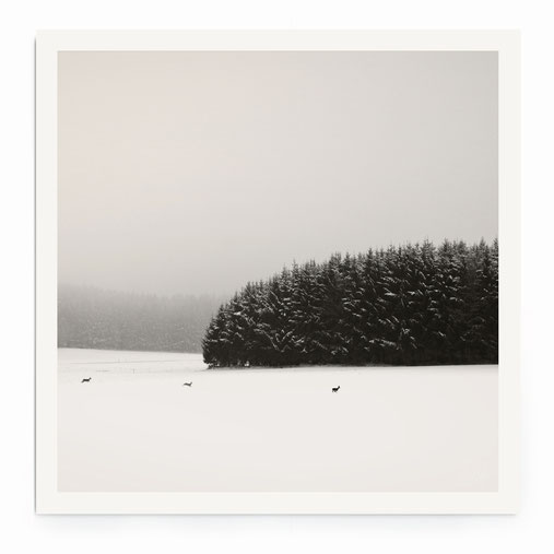 Winterscape.Bavaria. Limited Edition Print 20 Ex.