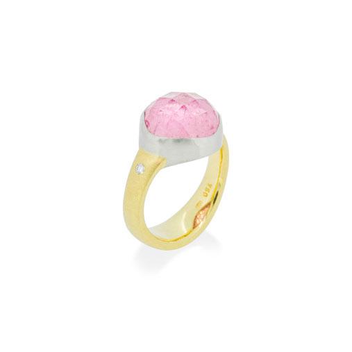rubellit-turmalin-rose-cut-rosenschliff-platin-gelb-gold-ring-goldschmiede-atelier-herzog-handmade-in-austria