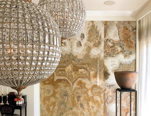 Onyx Arco Iris Feature wall
