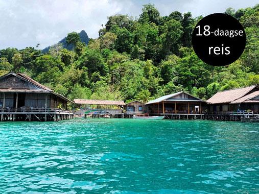 Paradijselijk Sawai bij Seram op de Molukken