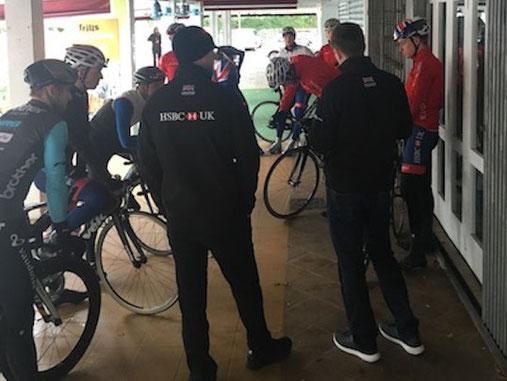 Radsport WM Vorbereitung Mallorca Laura Simon Sportphysio Saarbrücken