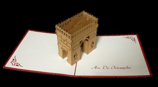 Carte 3D Arc de Triomphe