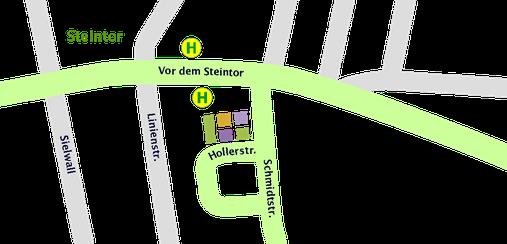 Hollerhaus Lageplan