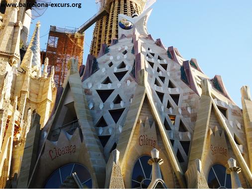 Храм Святого Семейства в Барселоне. Сакристия.