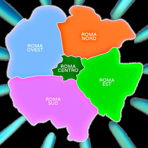 sale feste per bambini roma