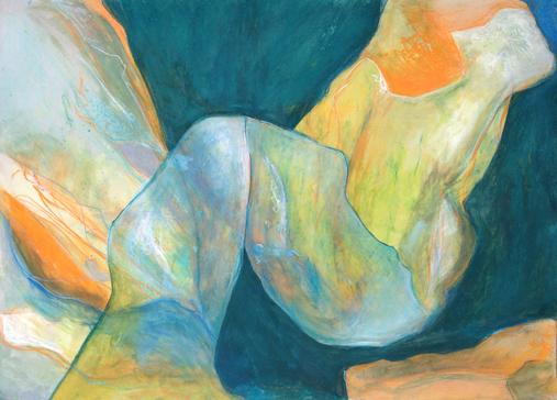 Untitled, Mixed Media, 70x100cm, 2015