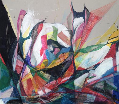 Untitled, Mixed Media, 60x70cm, 2014