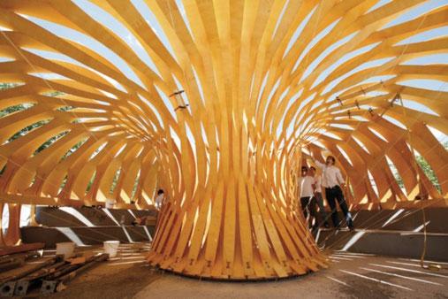 Holzpavillon Stuttgart