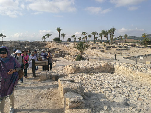 раскопки Мегидо
