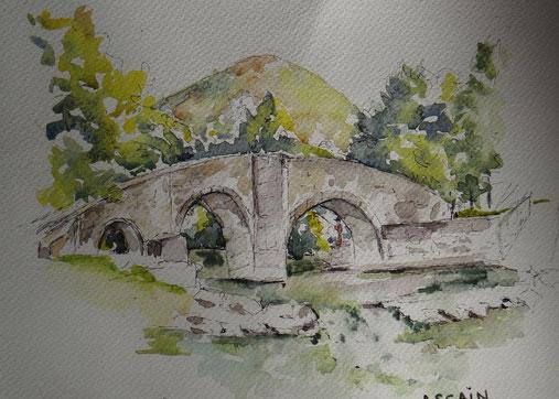 Pont romain d'Ascain