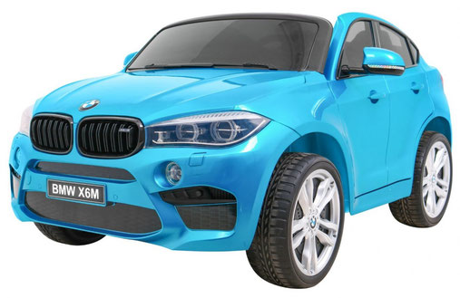BMW/Kinder Auto/Elektroauto/Kinderauto/2 Sitzer/XXXL/lizensiert/2018/blau lackiert/